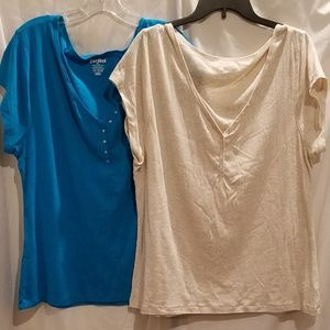 Old Navy | Perfect Henley T Shirts XXL